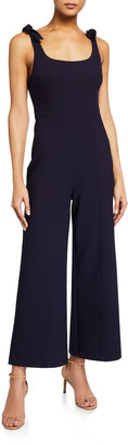 LIKELY Ellery Sleeveless Crepe Jumpsuit