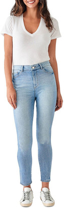 DL1961 DL 1961 Farrow Crop Mid Rise Instasculpt Skinny Jeans Lt