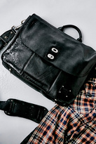 Will Leather Goods Womens KENT LEATHER MESSENGER