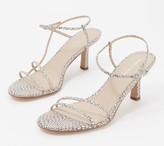 Marc Fisher Strappy Kitten Heel Sandals - Quinne