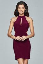 Faviana Halter Neck Sheath Dress s8057
