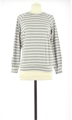 Les Prairies de Paris Grey Cotton Knitwear for Women