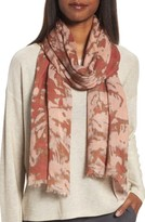 Eileen Fisher Women's Print Silk & Wool Scarf