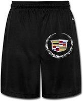 MESTT Men's Cadillac Logo Performance Sports Athletic Shorts Sweatpants