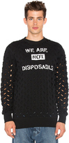 Vivienne Westwood We Are Not Disposable Sweatshirt