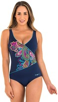 Zoggs Boho Jet Set Wrap Front One Piece