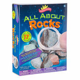 SCIENTIFIC EXPLORER Scientific Explorer All About Rocks Kit 12-pc. Discovery Toy