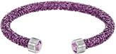 Swarovski Crystaldust Heart Cuff, Purple