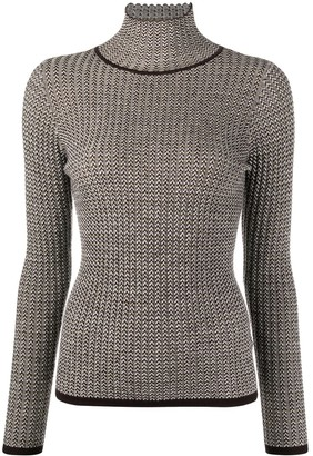 Sandro Embroidered Roll-Neck Jumper