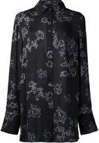 Vera Wang floral print shirt - women - Silk - 12