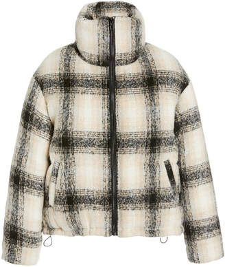 Apparis Marianny Plaid Faux Wool Coat