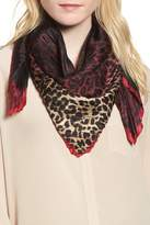 Vince Camuto Ombre Leopard Silk Scarf