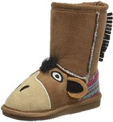 Muk Luks Kids' Animal Brown Horse Pull-On Boot