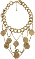 Large Chain Coin Necklace