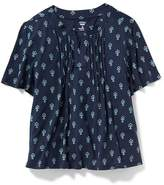 Old Navy Pintuck Swing Top for Girls