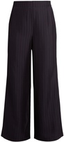 Acne Studios Tennessee shadow-striped wide-leg trousers