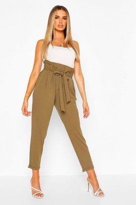 boohoo Tailored Belted Trouser