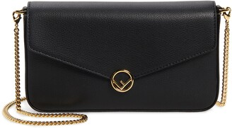 Fendi Calfskin Leather Shoulder Bag
