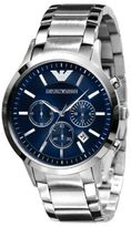 Emporio Armani Slim Stainless Steel Chronograph Watch