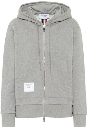 Thom Browne Cotton zip through hoodie