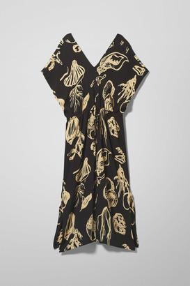 Weekday Sage Dress - Black