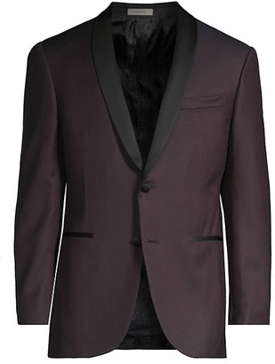 Corneliani Texture Wool Dinner Jacket