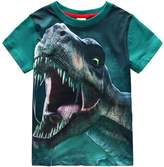 Frogwill Toddler Boys Dinosaur Short Sleeve 3D T-shirt Top Tee Size 4-10 (6/7Y, )