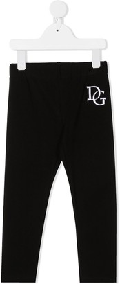 Dolce & Gabbana Kids Embroidered Logo Track Pants