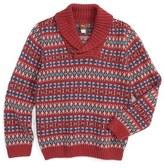Tea Collection Hiroki Sweater (Toddler Boys & Little Boys)