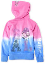 Butter Shoes Girls 4-6x) Dip-Dye Soccer Fleece Hoodie