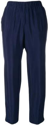 Kiltie Cropped Trousers