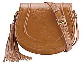 GiGi New York Jenni Leather Saddle Bag