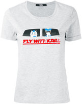Karl Lagerfeld D2 T-shirt - women - Cotton - XS