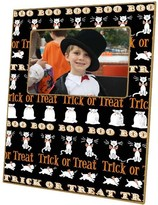The Well Appointed House Halloween Trick or Treat Decoupage Picture Frame