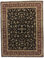 """Nourison Closeout! Royalty RO39 Black 7'9"""" x 9'9"""" Hand-Knotted Rug"""