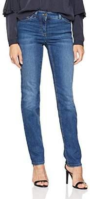 Gerry Weber Women's Hose Jeans Lang Straight (Blue Denim 841008)