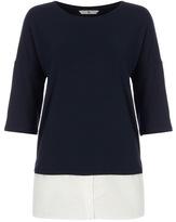Tu clothing Navy Shirt Hem Tunic