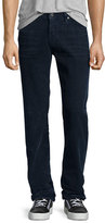 AG Adriano Goldschmied Graduate Corduroy Pants, Dark Blue