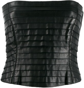Giorgio Armani Pre-Owned 1990's layered tube top