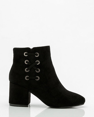 Le Château Almond Toe Lace-Up Ankle Boot
