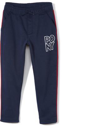 Pony Boys' Sweatpants DRESS - Dress Blues Logo Fleece Sweatpants - Boys