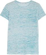 Proenza Schouler Printed slub cotton T-shirt