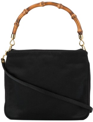 Gucci Pre Owned Bamboo Line 2way Mini Hand Bag