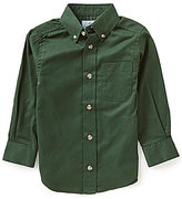 Class Club Little Boys 2T-7 Solid Twill Shirt