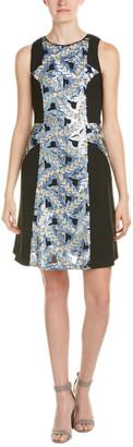 Hale Bob Sequin A-Line Dress