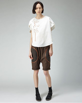 Tsumori Chisato flower cut-out top