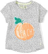 Joules Little Girls 3-6 Pixie Life s Peachy Tee