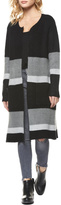 Dex Colorblocked Sweater Coat