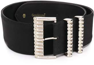 Versace Pre Owned 1980's oversized buckle belt