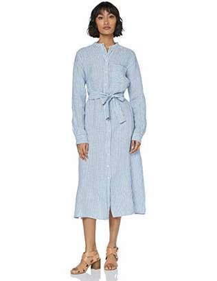 BOSS Casual Women's Tunic-Style Camona Long Sleeve Blouse,(Manufacturer Size: 38)